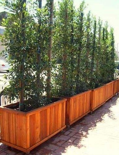 Napa Planter Redwood Planter Forever Redwood Outdoor Love