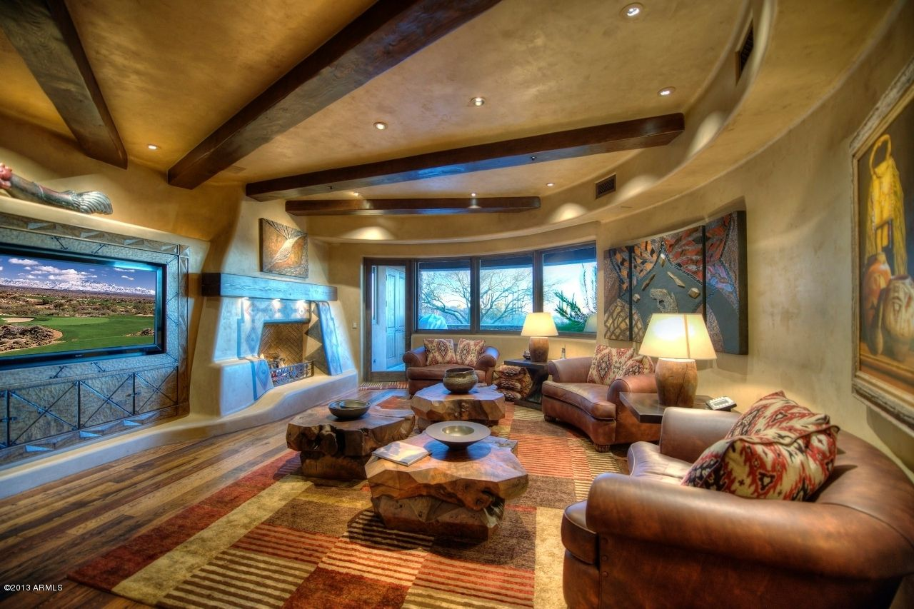 Man Cave In Spanish : Man cave with a bigger tv media room ideas pinterest