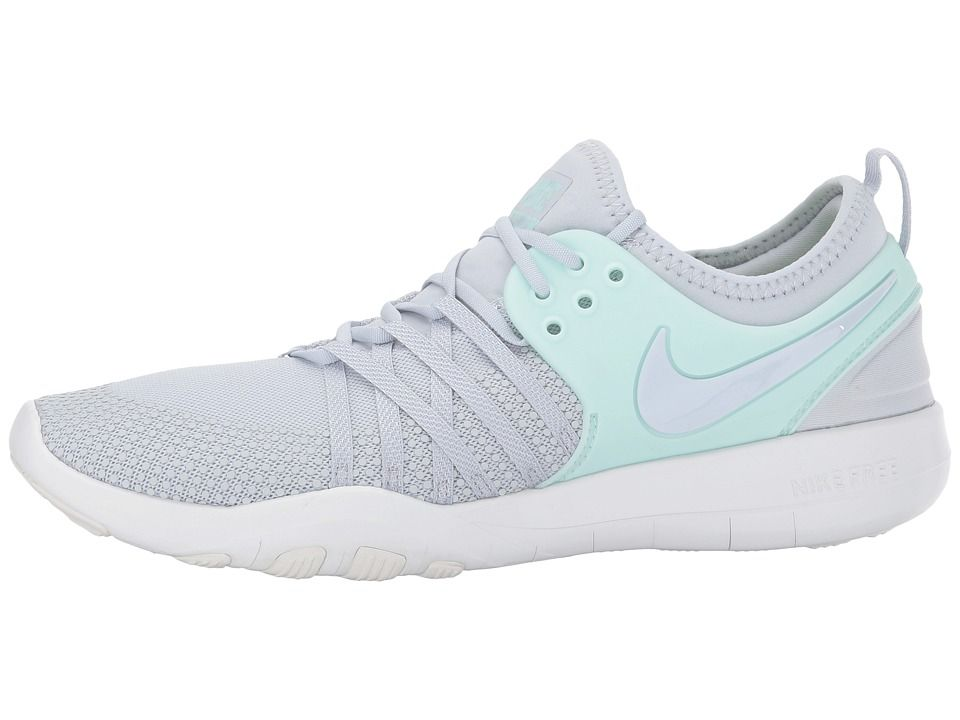 hot sale online 71270 e10dc Nike Free TR 7 Womens Cross Training Shoes Pur PlatinumPure  PlatinumIgloo White