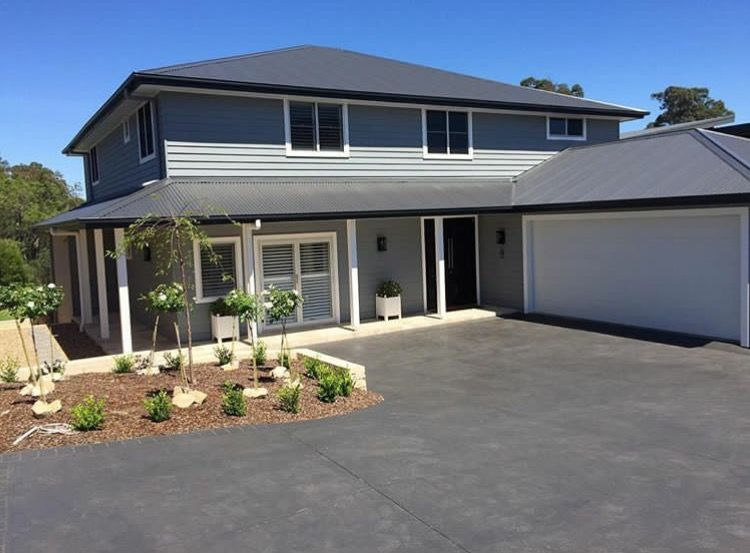 Dulux timeless grey monument roof color in 2019 - Exterior house paint colours south africa ...