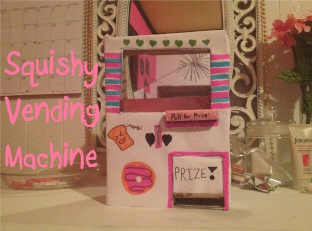 Squishy Vending Machine Squishies Stuff Pinterest Vending