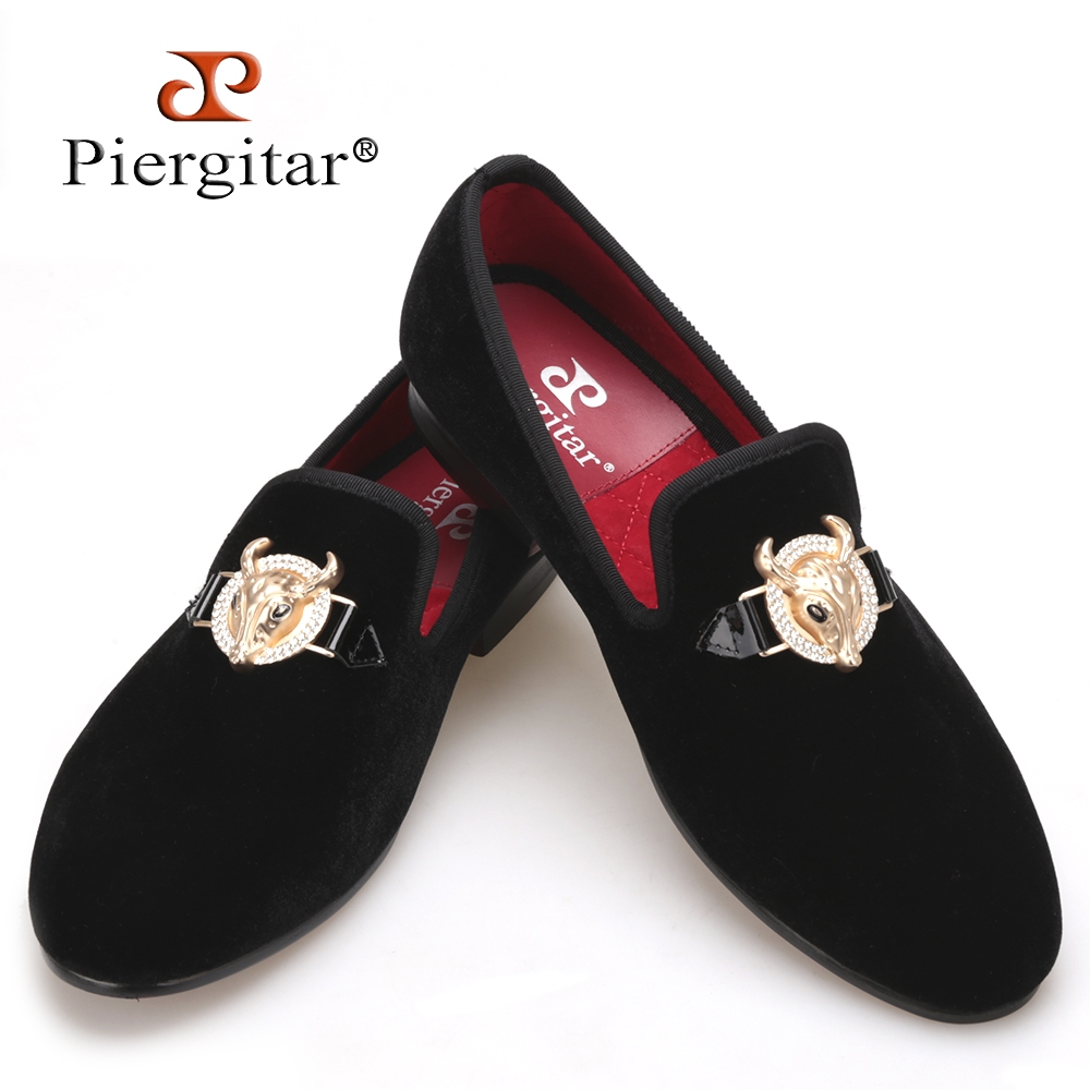 where to buy Handmade Loafers Men Velvet Shoes Slippers Smoking Slip-on Shoes Tiger Buckle Party Wedding Weaving Dress Mens Flats RedBottom latest cheap price lCvhYUanO
