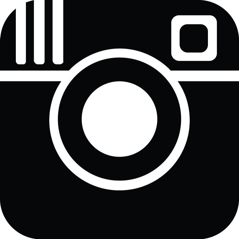 logo instagram black