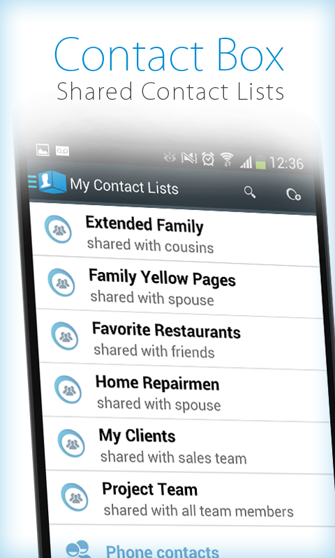 How to Share Contacts in Bulk via Android Apps Drippler