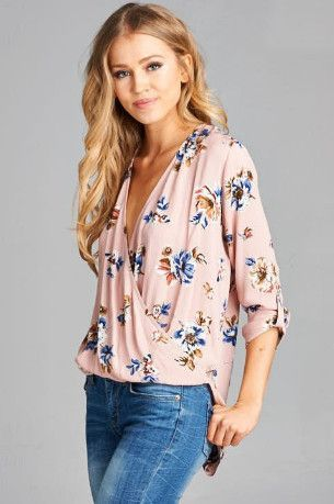 Callin' Me Darlin' Top - Blush from Chocolate Shoe Boutique