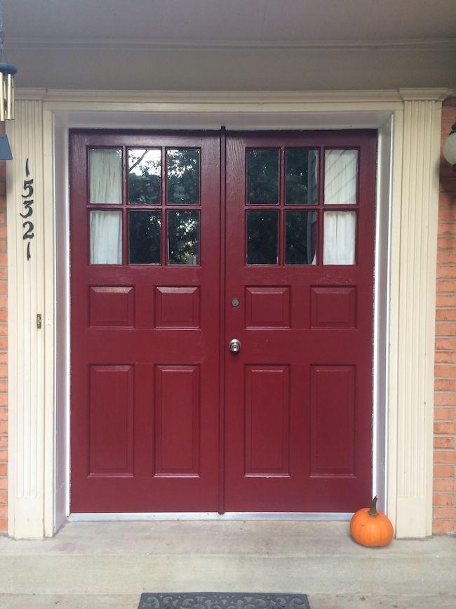 Paint Your Front Door For a Punch of Color | Front doors, Doors ...
