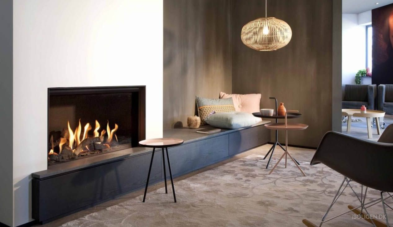 f flamme hygge i stuen ogs selvom du bor sm t interior design pinterest wohnzimmer. Black Bedroom Furniture Sets. Home Design Ideas