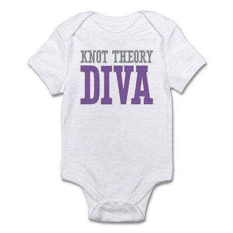 Knot Theory DIVA Infant Bodysuit #onesie #math