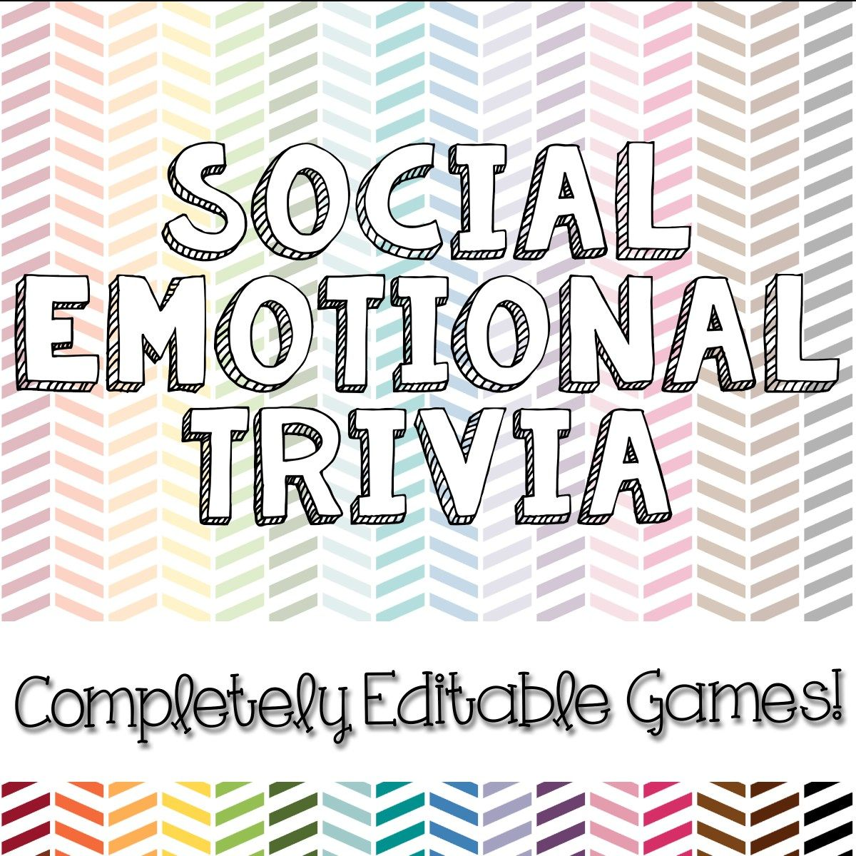 New Product Social Emotional Trivia Games Social