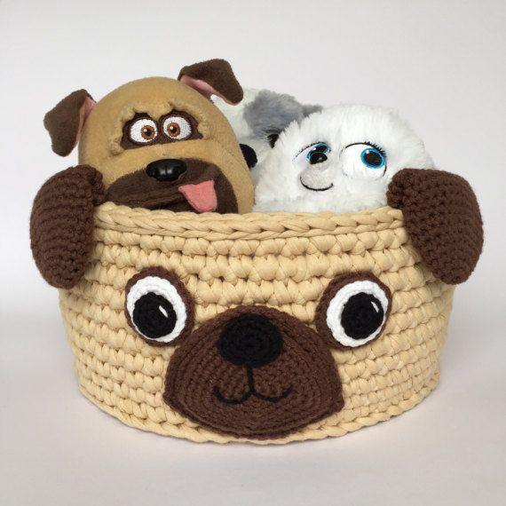 Kids Storage Basket Made Of Recycled Fabric Yarn Great Storage