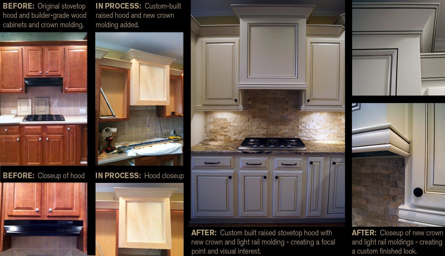 Creative cabinets andfaux finishes llc ccff before and after