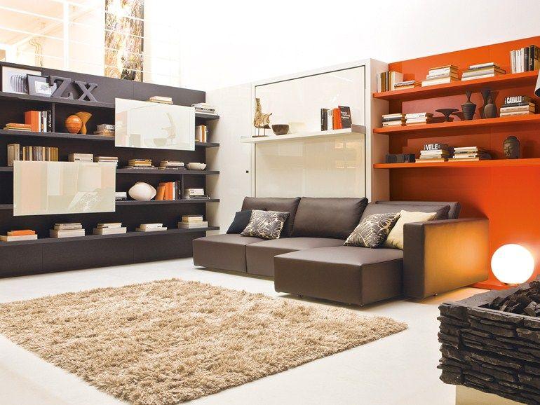 divano-mobili-a-scomparsa-12 | SizeDesign.it | Pinterest | DIY furniture