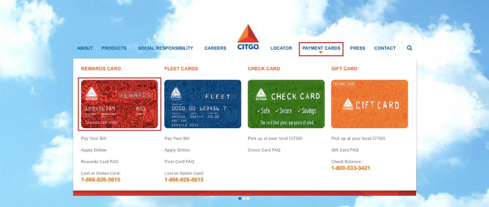 Citgo Credit Card Login Guideline
