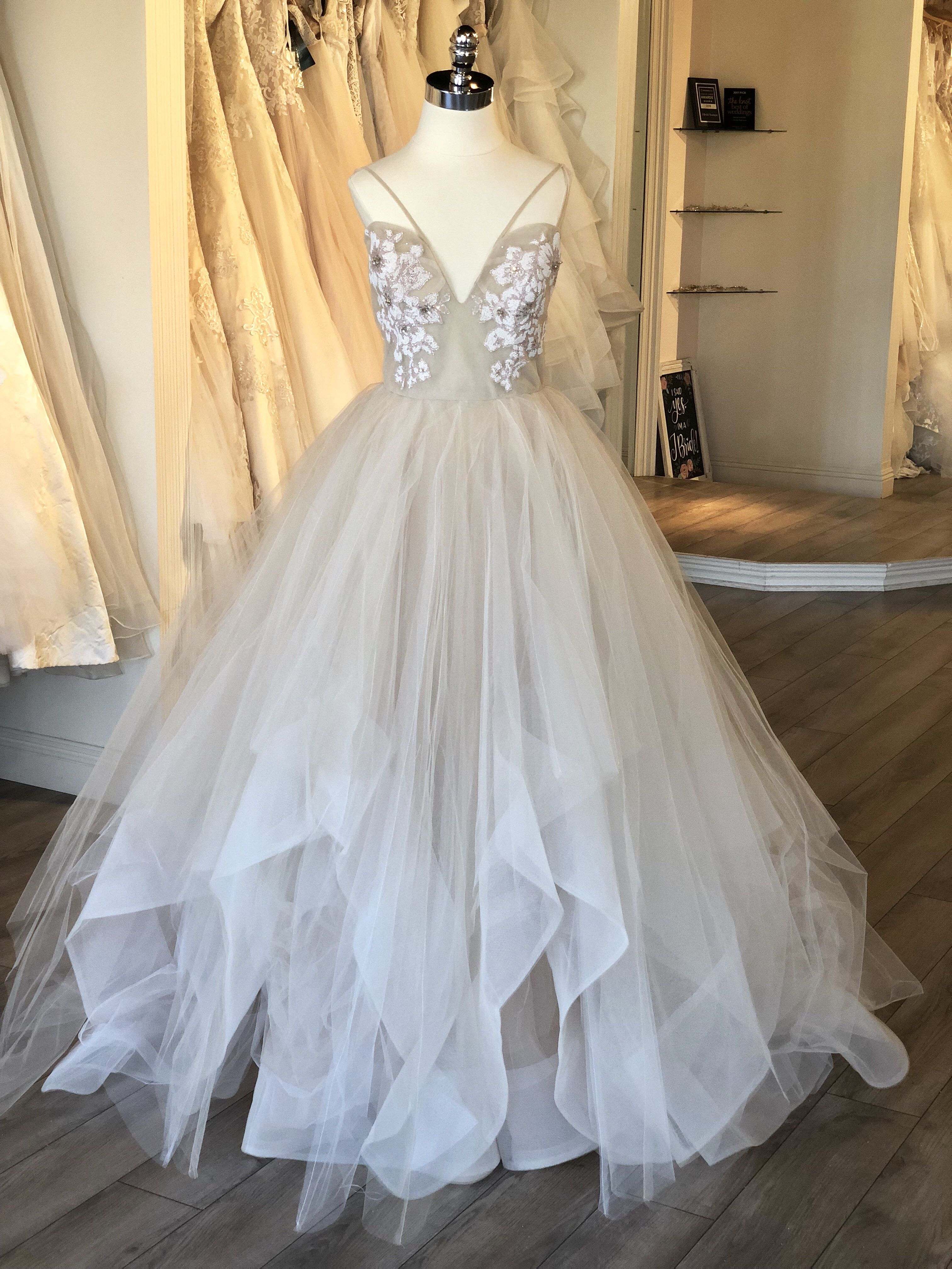 Hayley Paige Keegan Gown Style 6760 Full Tulle Ballgown Layered