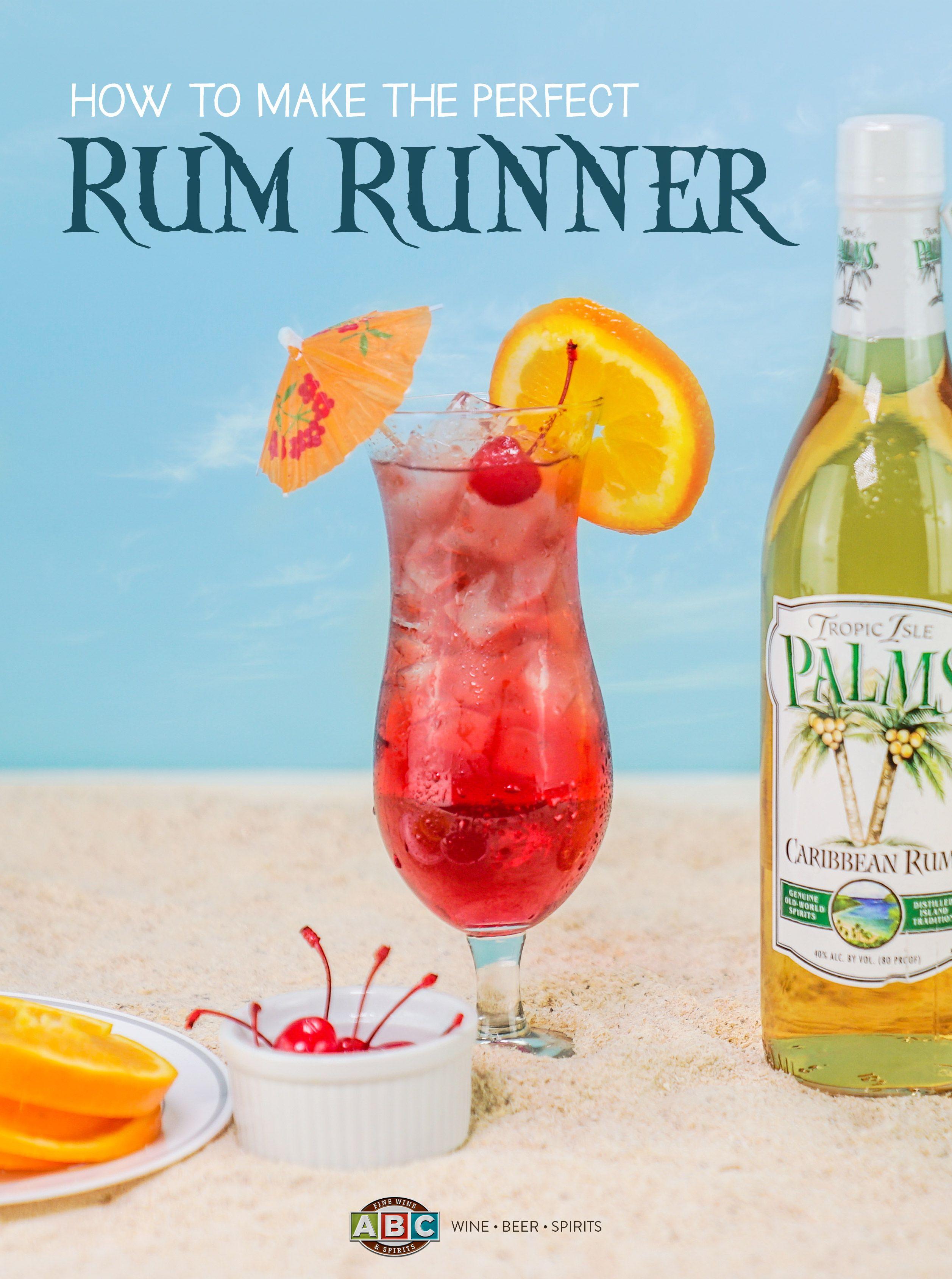 Rum Runner 1 Oz Palms White Rum 1 Oz Palms Gold Rum 1 Oz Banana Liqueur 1 Oz Blackberry Liqueur 1 Oz Orange Juice 1 Oz Pine Fun Drinks Rum Gold Rum