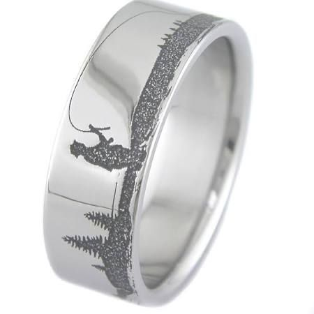 fishing and ring carbide products pin wedding catfish tungsten rings