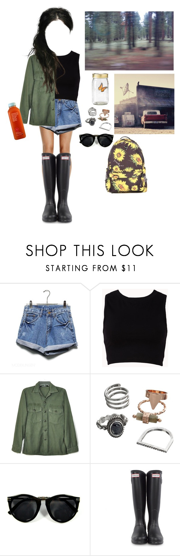 """""""hiking"""" by gypsysoulqueenofboho ❤ liked on Polyvore featuring Forever 21, Obesity and Speed, Mudd, Hunter, ootd, polyvorefashion, 60secondstyle and PolyvoreMostStylish"""
