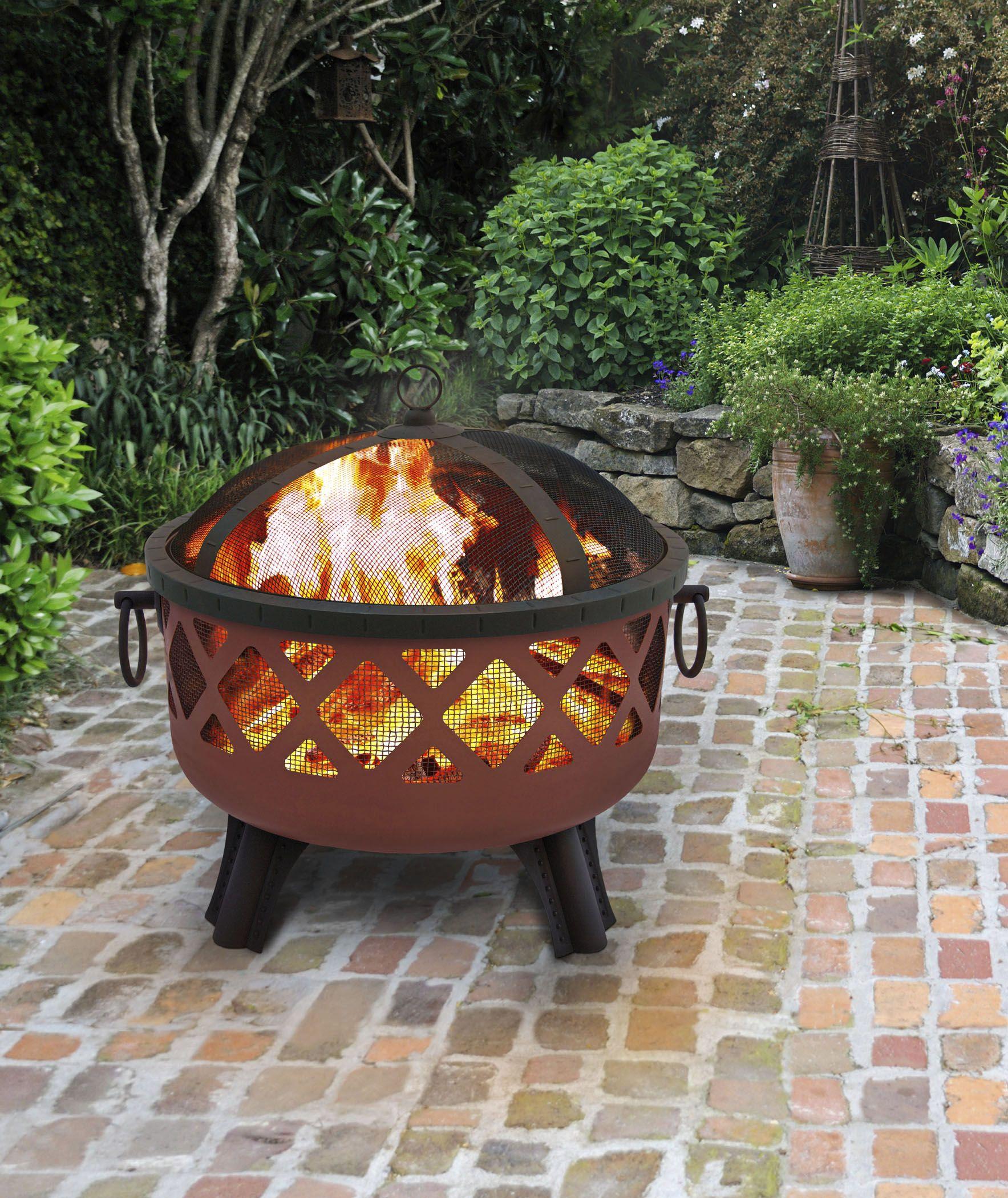 Heavy Duty Folding Fire Pit Ring | Wood burning fire pit ...