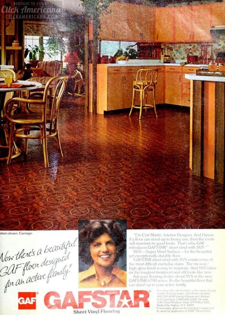 1978 Carnegie Retro Brick Red Flooring Pattern Vinyl Flooring Basement Flooring Diy Flooring