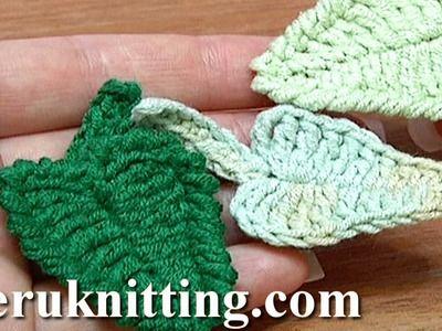 Crochet patterns - How to Make a Crochet Hexagon | Crochet leaves ...