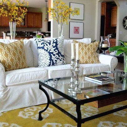 sweet white sofa cover   blue and white couch slipcover - Google Search   Home ...