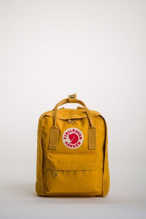 dc3b21d6dc Fjallraven Kanken Mini Backpack - Ochre Home Fjallraven Kanken Mini ...