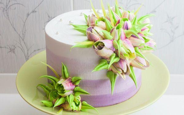 фото кремовых тортов