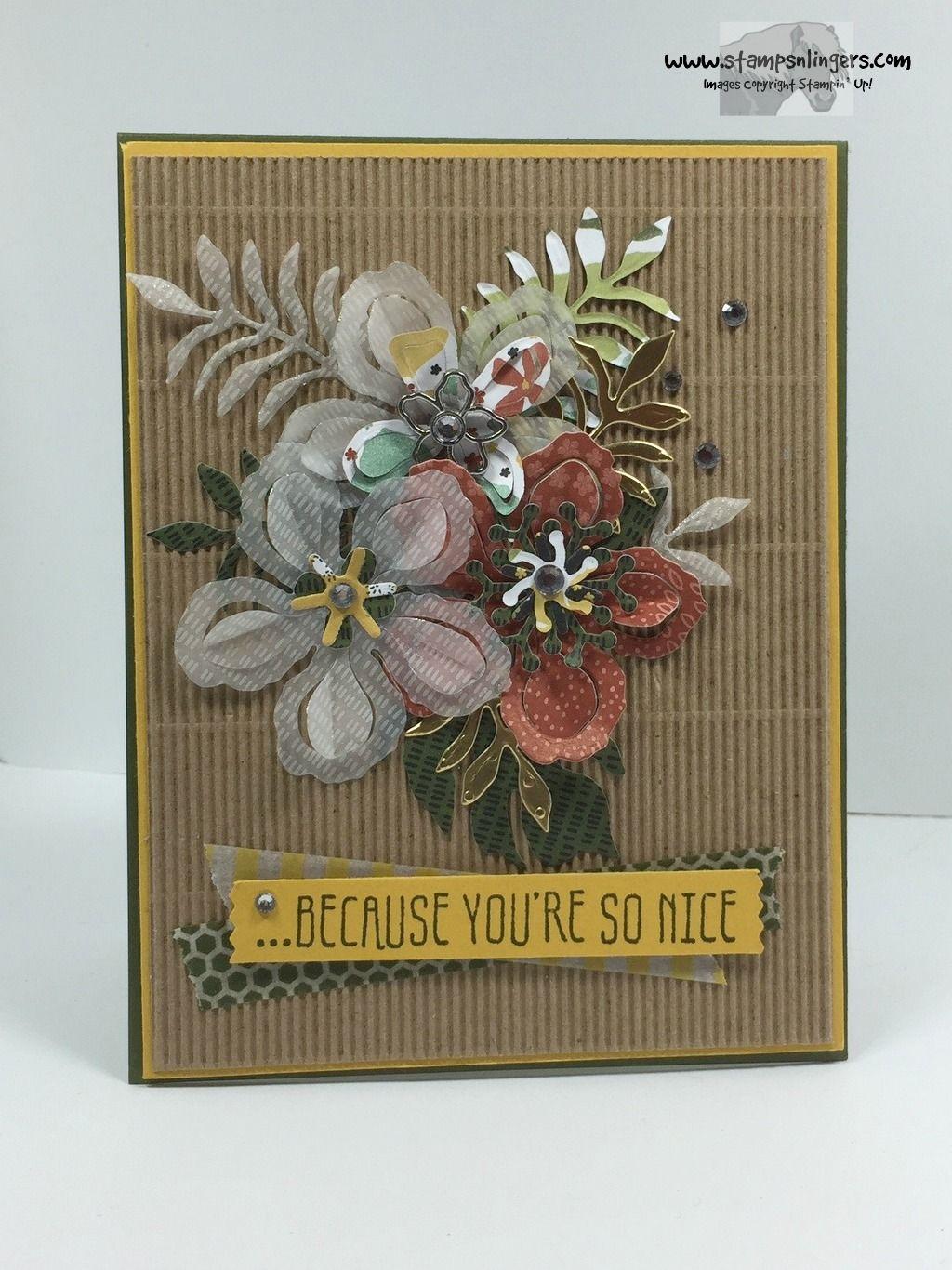 Stampin' Up - Botanical Builder For You - Stamps-N-Lingers