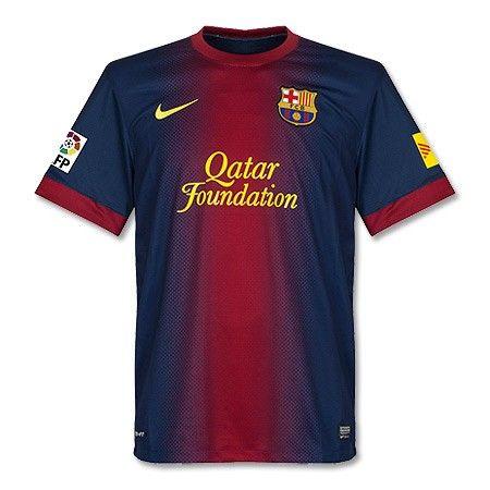 c5764a83e1 Camiseta del Barcelona 2012-2013 Local (Incluye Logo TV3 ...