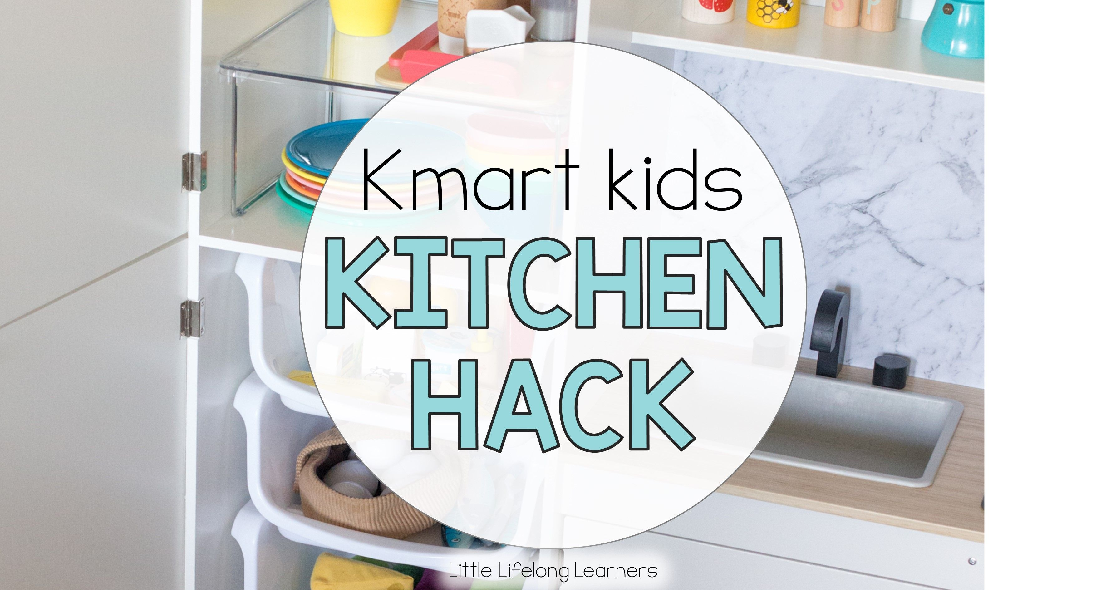Kmart Kitchen Hack for Kids | Kitchens, Organizations and ...