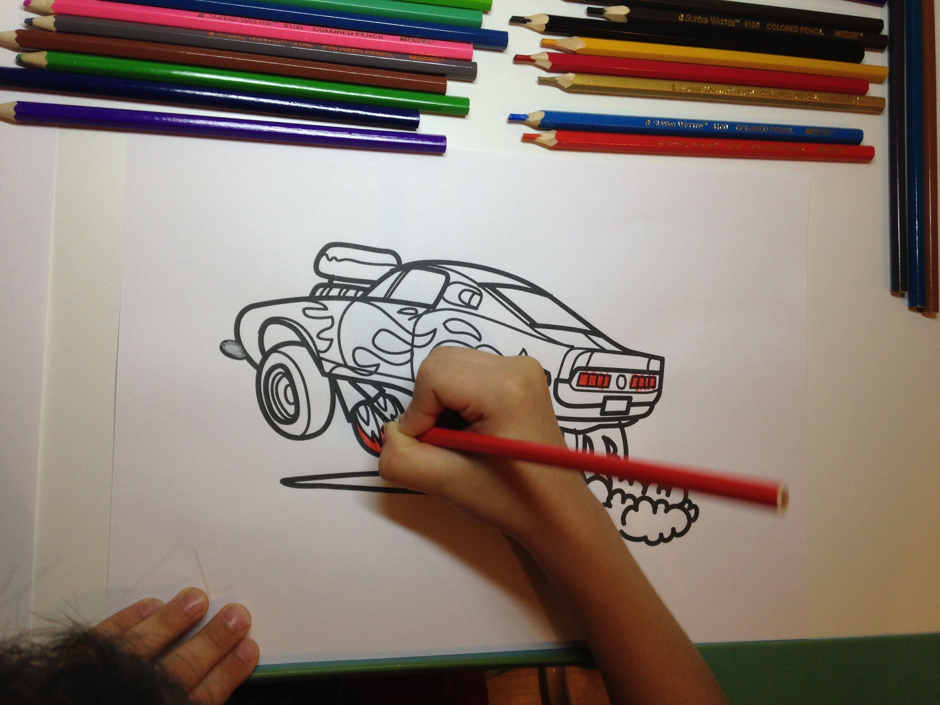 how to draw a car ford mustang shelby drag racing muscle car