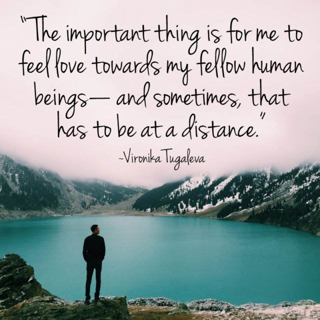 """""""The most important thing is for me to feel #love towards ..."""
