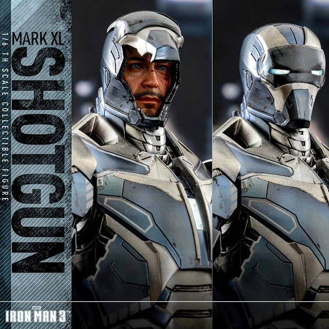 The Iron Man 3 Hot Toys Shotgun Pre-order Is Up.  BUY IT: http://bit.ly/IMshotgun  #hottoys #ironman3 #shotgun #marvel #tonystark #robertdowneyjr #toys #toystagram #sideshow #FLYGUY