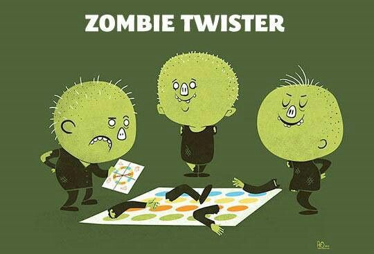 Zombie twister