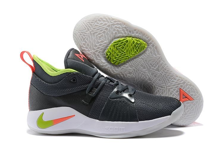 """Nike PG 2 """"Hot Punch"""" Anthracite/Hot"""