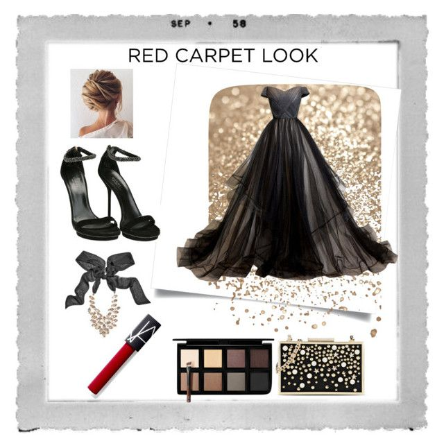 """""""theredcarpet"""" by bhavna-sharma ❤ liked on Polyvore featuring Polaroid, Down to Earth, Karl Lagerfeld, Gucci and GUESS by Marciano"""