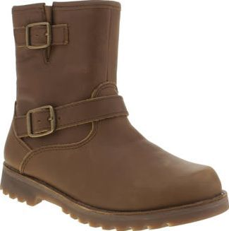 UGG australia Dark Brown Harwell Girls Junior Leave it to UGG to kit your  little ones