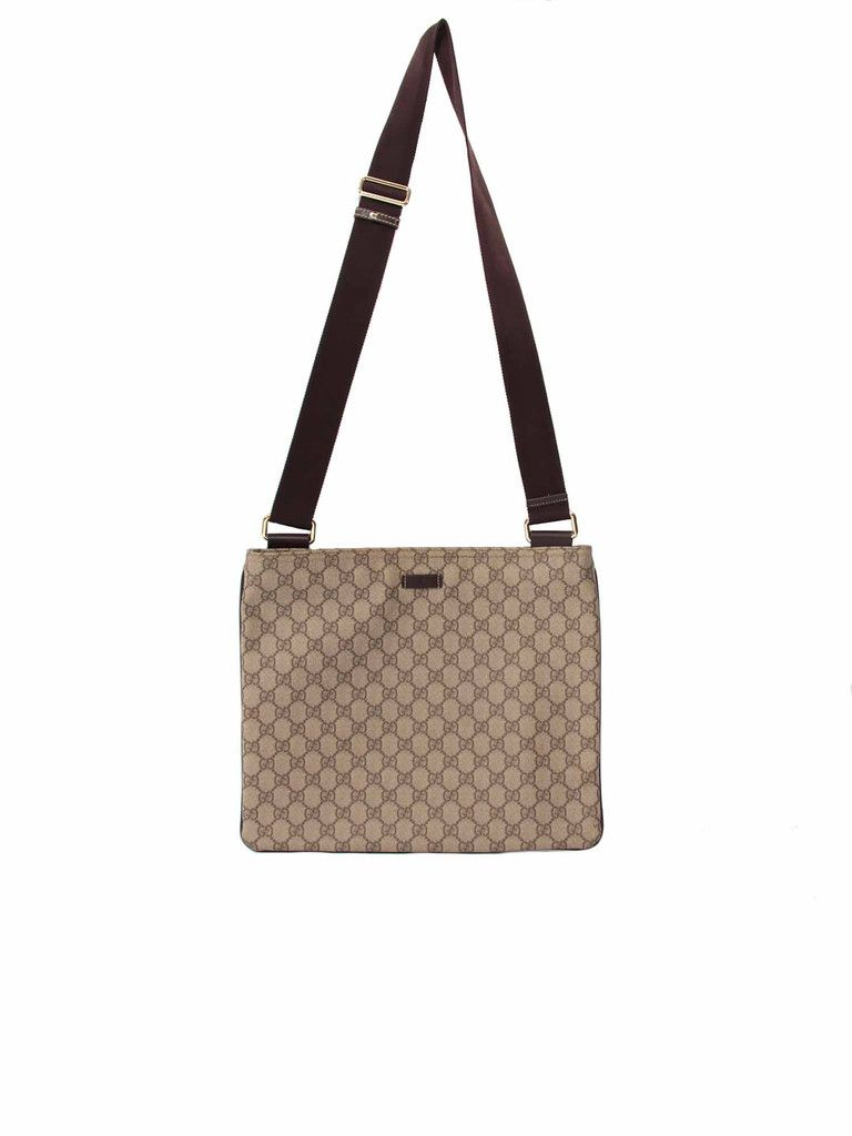 d42d1b3c8a9 Monogram Large Messenger | In The Bag | Gucci monogram, Gucci ...