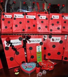 Diy Ladybug Antenae Kids Party Decorations Ladybug Party