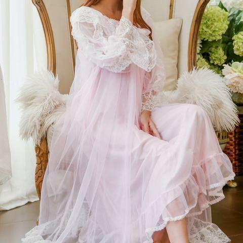 pinkrystal on pink wishes  pajama dress dresses