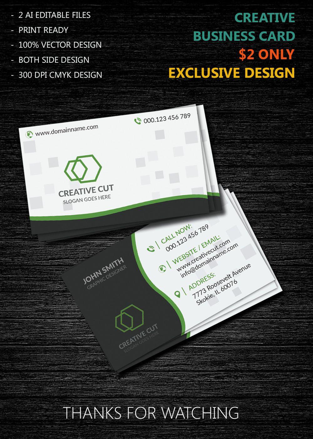 Vector Business Card Design Vector Business Card Business Card Design Free Business Card Design