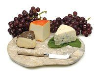 Click Image Above To Purchase: Rsvp International 2-pc. Fossil Cheese Board