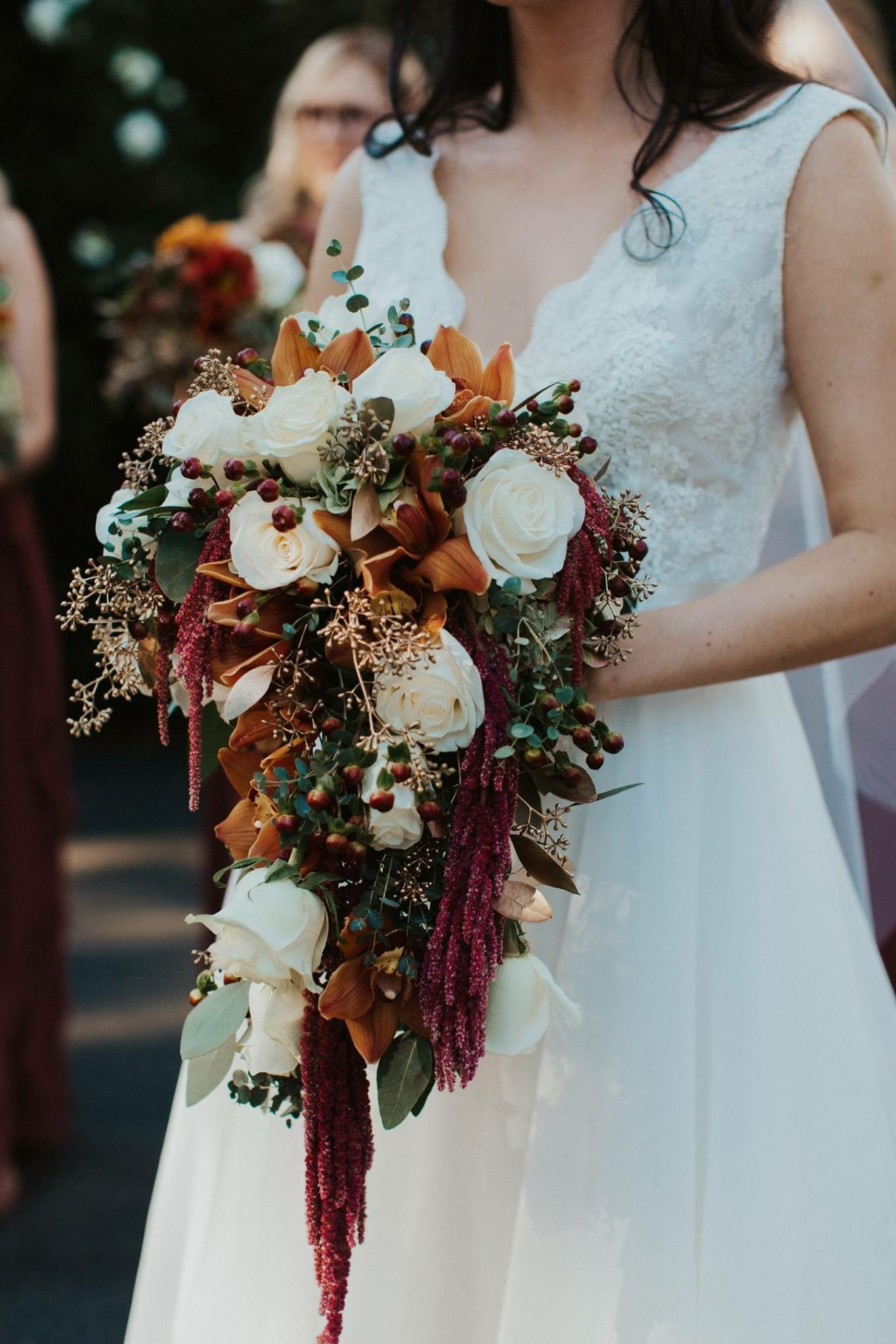 Fall Rust Colored Bridal Bouquet Rusting Wedding Wedding