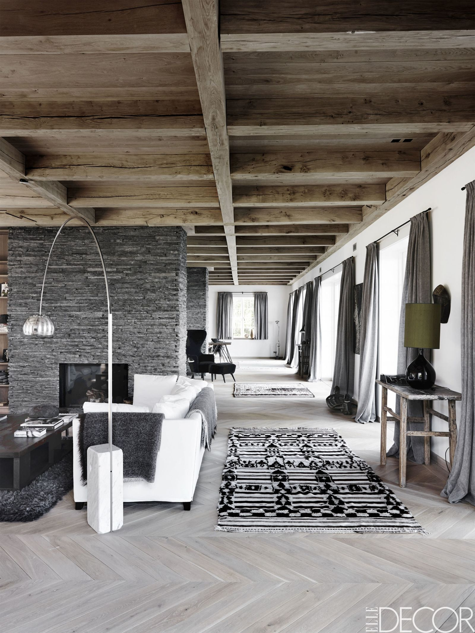 These Gray Living Rooms Are Full Of Style Rugs In Living