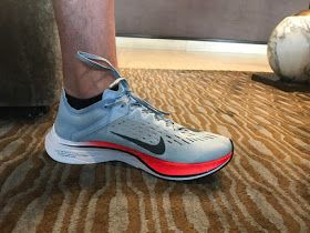 Nike's most efficient and fastest marathon shoe to date, the Nike Zoom Vaporfly 4% Unisex Running Shoe provides superior responsiveness.