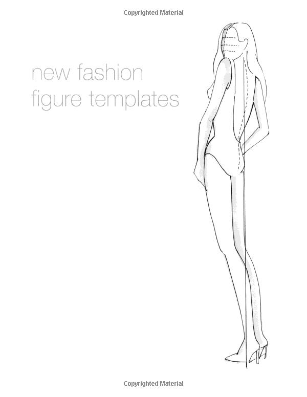 New Fashion Figure Templates - m 22