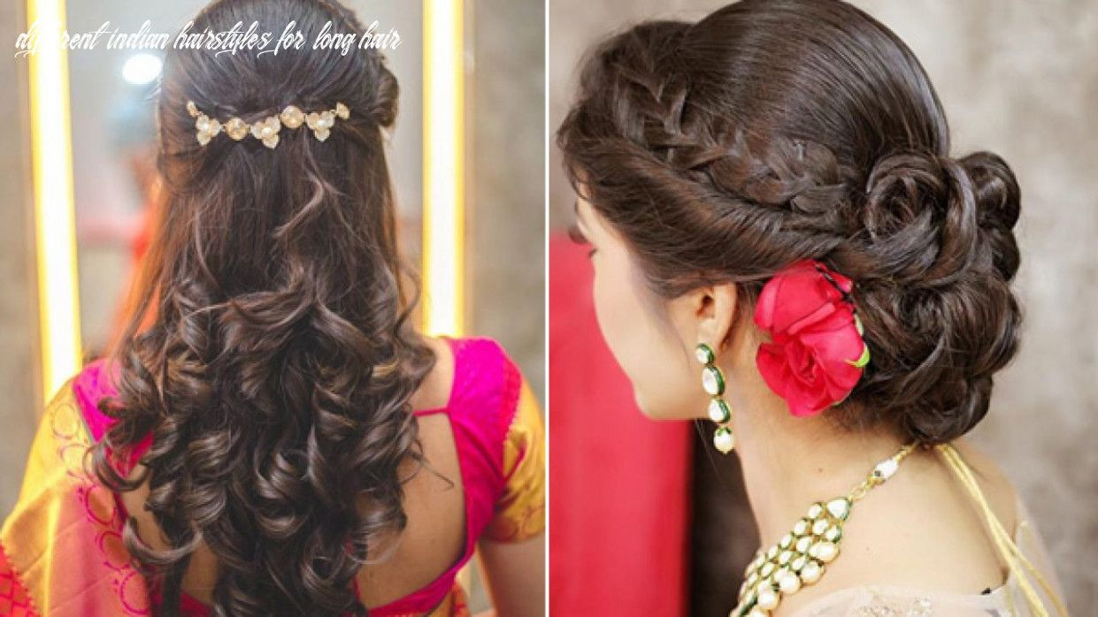 9 Different Indian Hairstyles For Long Hair In 2020 Medium Hair Styles Hair Styles Curly Hair Styles