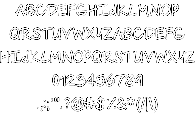 The Urban Way Font | Typography | Fonts, Outline, Hand lettering