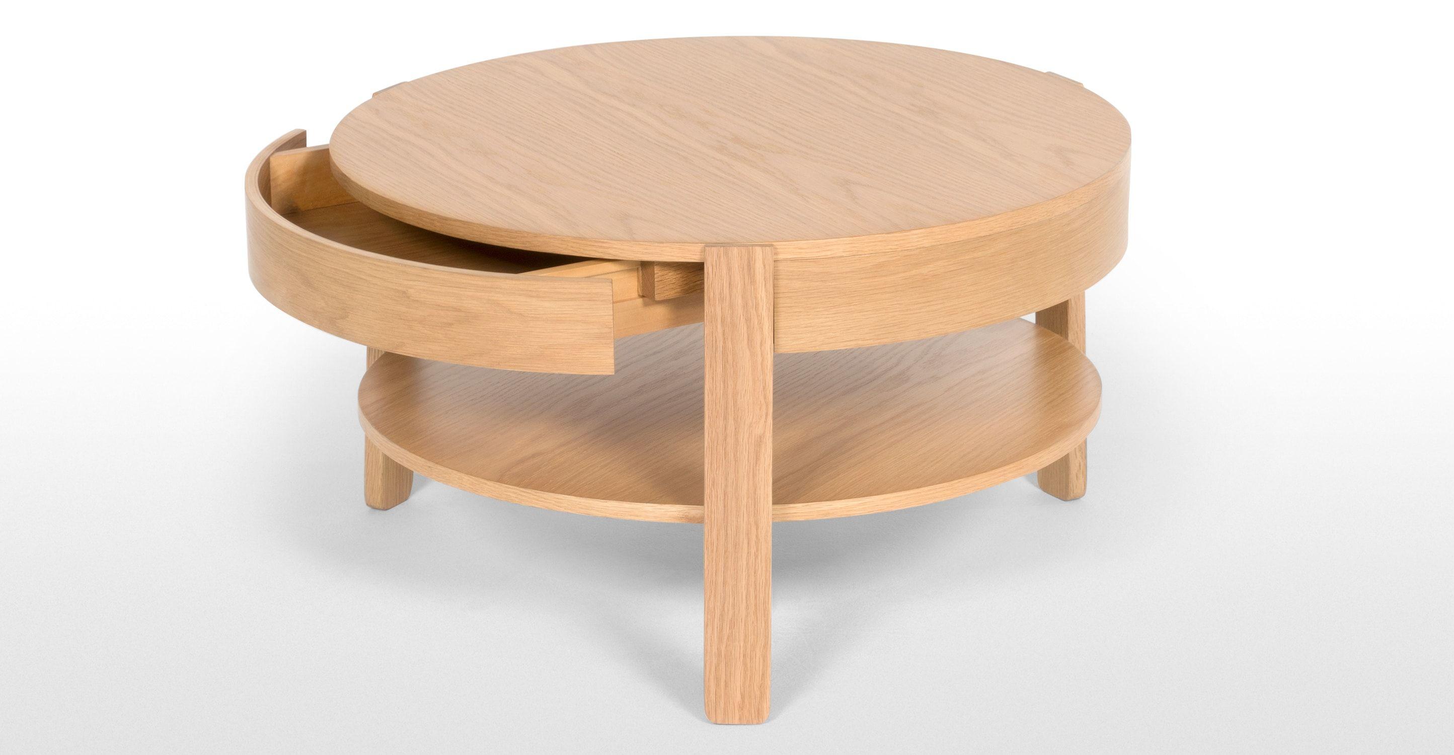 Pippa Coffee Table, Light Oak