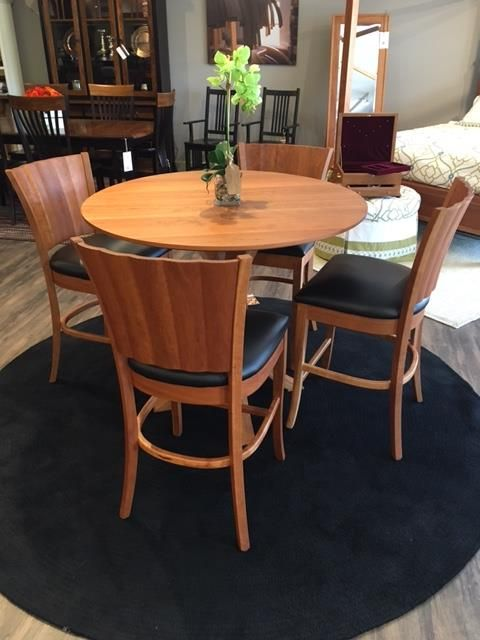Amish Ripple Back Dining Set In Stock And Ready To Ship